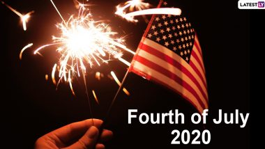 Fourth of July 2020 HD Images & Wishes: WhatsApp Stickers, Facebook Messages, GIF Greetings & SMS to Celebrate American Independence Day